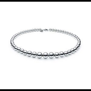 Tiffany & Co. Graduated Ball Necklace